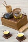 Traditioneel Chinees Theestel stock fotografie