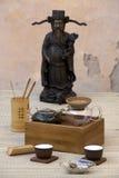 Traditioneel Chinees Theestel royalty-vrije stock afbeelding