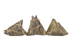 Traditioneel Chinees voedsel - rijstbollen Royalty-vrije Stock Afbeeldingen