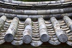 Traditioneel Dak, Zuid-Korea stock fotografie