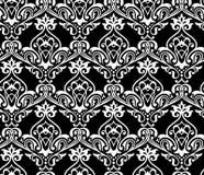 Traditioneel damast naadloos patroon Royalty-vrije Stock Afbeelding
