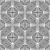 Traditioneel damast naadloos patroon Stock Foto