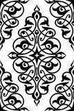 Traditioneel damast naadloos patroon Stock Afbeelding