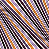 Traditioneel de kleuren diagonaal gestreept patroon van Halloween Gevoerde abstracte achtergrond De moderne textuur van de stijl  stock illustratie