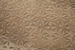 Traditioneel decoratief patroon van de voorgevels royalty-vrije stock fotografie