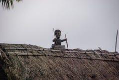 Traditioneel dorp Bena op Flores-Eiland Stock Fotografie