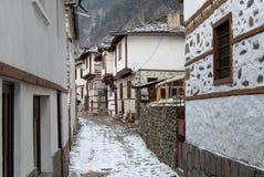 Traditioneel dorp in Bulgarije Stock Afbeeldingen