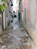 Traditioneel dorp in Kroatië Stock Fotografie
