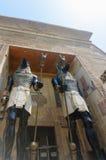 Traditioneel Egyptisch beeldhouwwerk stock afbeelding