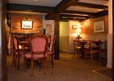 Traditioneel Engels Bar en Restaurant Stock Foto