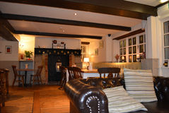 Traditioneel Engels Bar en Restaurant Royalty-vrije Stock Afbeeldingen
