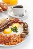 Traditioneel Engels Ontbijt royalty-vrije stock foto