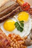 Traditioneel Engels Ontbijt stock fotografie