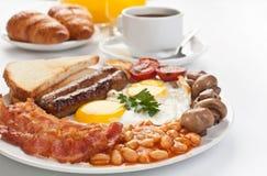 Traditioneel Engels ontbijt royalty-vrije stock afbeelding