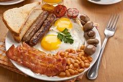 Traditioneel Engels ontbijt stock afbeelding