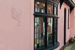 Traditioneel Gebrandschilderd glasvenster Stock Afbeelding