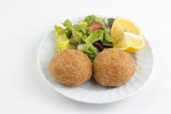 Traditioneel Heerlijk Turks voedsel; Icli kofte stock foto