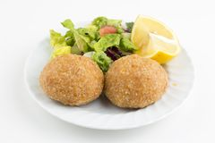 Traditioneel Heerlijk Turks voedsel; Icli kofte royalty-vrije stock foto's