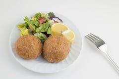 Traditioneel Heerlijk Turks voedsel; Icli kofte royalty-vrije stock afbeelding