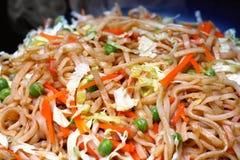 Traditioneel Heerlijk Vegetarisch Stootkussen Thai Royalty-vrije Stock Afbeeldingen