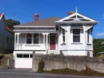 Traditioneel Houten Huis Royalty-vrije Stock Foto