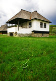 Traditioneel huis royalty-vrije stock foto