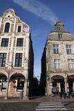 Traditioneel huis in Arras, Frankrijk Stock Fotografie