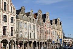 Traditioneel huis in Arras, Frankrijk Royalty-vrije Stock Foto's