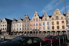 Traditioneel huis in Arras, Frankrijk Royalty-vrije Stock Fotografie