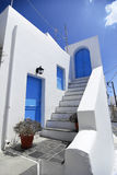 Traditioneel huis in Eiland Kithira. Stock Foto