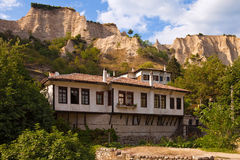 Traditioneel Huis Melnik royalty-vrije stock foto