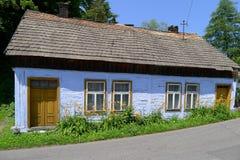 Traditioneel huis in Ojcow Royalty-vrije Stock Afbeeldingen