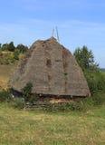 Traditioneel huis Transylvanian Stock Afbeelding