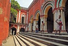 Traditioneel huis van Oude Kolkata. Royalty-vrije Stock Afbeeldingen