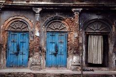 Traditioneel huis van oude Kolkata Stock Fotografie