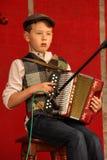 Traditioneel Iers muziekfestival Ardara Provincie Donegal ierland royalty-vrije stock foto's