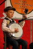 Traditioneel Iers muziekfestival Ardara Provincie Donegal ierland royalty-vrije stock foto