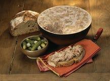 Traditioneel ingemaakt varkensvlees stock afbeeldingen