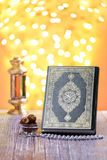 Traditioneel Islamitisch Ramadan Icons Royalty-vrije Stock Foto