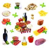 Traditioneel Italiaans voedsel Stock Foto