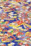 Traditioneel Japans patroondocument Stock Foto