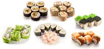 Traditioneel Japans voedsel Stock Afbeeldingen