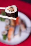 Traditioneel Japans voedsel - sushi Royalty-vrije Stock Afbeelding