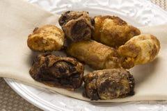Traditioneel Joods Dessert Rugelach Royalty-vrije Stock Afbeeldingen