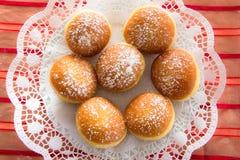 Traditioneel Karinthisch Carnaval Donuts royalty-vrije stock foto