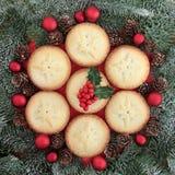 Traditioneel Kerstmisvoedsel royalty-vrije stock foto
