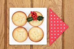 Traditioneel Kerstmisvoedsel stock foto