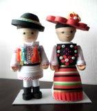 Traditioneel kostuum van Aries Valley Stock Fotografie
