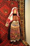 Traditioneel Macedonisch Kostuum Stock Foto's