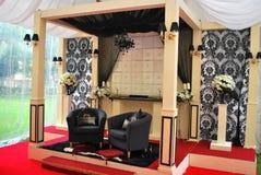 Traditioneel Maleis huwelijk royalty-vrije stock afbeelding